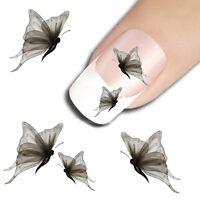 20 sticker ongles nail art decoration ongle stickers animaux papillon au choix