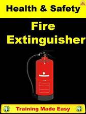 Fire Extinguisher Use - Foam CO2 Powder Water Health & Safety Training made Easy