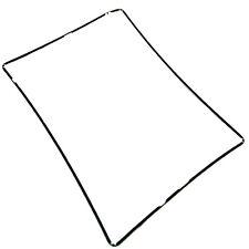 Pantalla Táctil Negro Medio Marco Bisel Conjunto De Cinta Adhesiva de Soporte para iPad 2 3 4