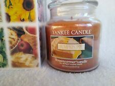 New Yankee Candle Classic Pumpkin Pie *Vintage in Box* 14.5 oz Strongly Scented