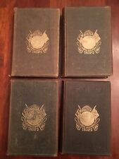 RARE 1882 Roster North Carolina Troops, Civil War, Confederate 4-Volume Set, CSA