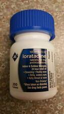 Loratadine Non Drowsy Antihistamine 10 MG Tablets 200 ct Member's Mark Generic