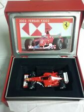 FERRARI F2002 Rubens BARRICHELLO F1 FORMULE 1 N°2 au 1/43 - La Storia SF20/02
