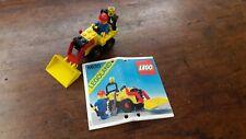 Legoland LEGO 6630 Bucket Loader 1981 w/instructions rare vintage tractor worker