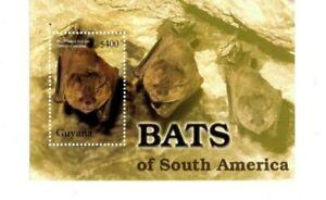 Guyana - 2004 - Bats - Souvenir Sheet - MNH