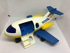 Fisher Price   Plane , family jet  #933, vintage 1980.