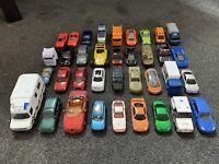 Diecast & Plastic Toy Car Bundle Job Lot - Featuring X40 Cars! Kids Toys