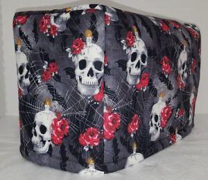 Skulls Webs & Roses Toaster Cover