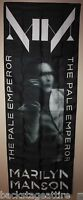 Marilyn Manson The Pale Emperor Cloth Textile Fabric Poster Flag Tapestry-New!