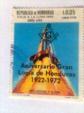 50° ANN. GRAN LOGIA DE HONDURAS USED, MASSONERIA MASONIC FREEMASONRY Franc-maçon