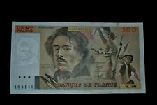 French 100 Francs 1985