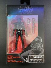 Star Wars Imperial Death Trooper The Black Series #25 3.75? Mint Sealed