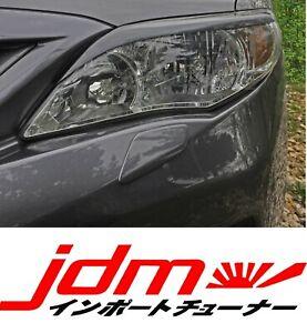For Toyota Corolla S Eyebrows Eyelids E150 2011-2013 Eye Line 2pcs Restyle set