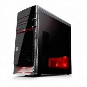 """$600.00 OFF PC GAMING PC HP h9-1340t Desktop and HP 22"""" HDMI Monitor & RED DRAGO"""