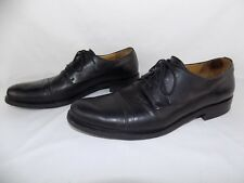 Bally Men's Black Leather Loafers Size 8.5 D Selco
