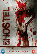 HOSTEL 1 TO 3 BOXSET - DVD - REGION 2 UK