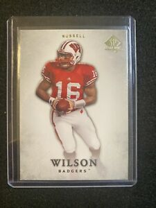RUSSELL WILSON 2012 SP AUTHENTIC Rc ROOKIE #87