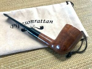 DUNHILL ROOT BRIAR 6142, SADDLE STEM DUBLIN PIPE, MADE IN ENGLAND 1967th.