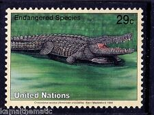 American Crocodile, Endangered Reptiles, United Nations MNH  - Ru06