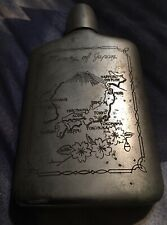 Memory of Japan WWII Flask Antique Memorabilia