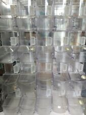 Used Scoop Bins By Trade Fixtures 16x12x8 Retail Grocery Bulk Foods Case Of 6