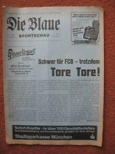 BAYERN MUNICH v TOTTENHAM HOTSPUR Die Blaue issue 83-84 Cup Winners Cup