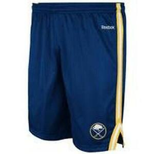 BUFFALO SABRES ROOKIE II SHORTS BY REEBOK (SMALL-LARGE)-NEW W/TAGS