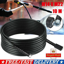 STEEL REINFORCED PETROL POWER WASHER HOSE 15 MTR NEW  CT387
