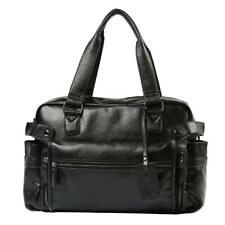 Men's Casual Tote Design Handbags Large-Capacity Portable Travel Shoulder Bags