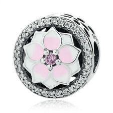 NEW European Silver plated Charm Bead Fit sterling 925 Necklace Bracelet M#084