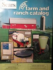 Sears 1978 Suburban-Farm Catalog FULL COLOR The Poultry 3-Point Implements 44pg