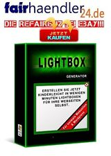 LIGHTBOX GENERATOR Tool WOW Easy Light-Box für Webseiten und WordPress-Blogs PLR