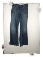Jeans Pants Stockings Flared G-Star Raw Size W25 L 32 New Size 36
