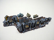 TERRAIN SCENERY RUINS CITY OF DEATH CONVERTION WARHAMMER 40K