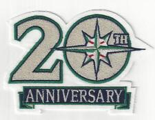 Seattle Mariners 20th Anniversary Sleeve Patch Loose