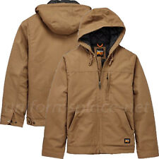 Timberland PRO Jacket Mens Baluster Hooded Insulated Canvas Work Jacket A1HVE