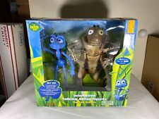 DISNEY PIXAR A BUG'S LIFE BUGS LIFE FLIK AND HOPPER INTERACTIVE TALKING FIGURES