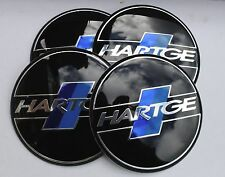 BMW HARTGE Wheel Hub Caps Badge Emblem Stickers 65mm Set of 4 EPOXY RESIN