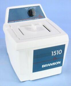 Branson Bransonic 1510R-MT Ultrasonic Cleaner Tested! WARRANTY!