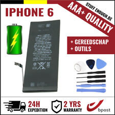 AAA+ REPLACEMENT REMPLACEMENT BATTERY/BATTERIJ/BATTERIE/ACCU +TOOLS FOR IPHONE 6