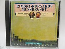 Rimsky-Korsakov Mussorgsky - Sheherazade Symphonic Suite Op 35 - CD