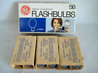 12 Vintage GE 5B Blue Flash Bulbs 1 Dozen
