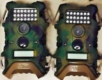 Used 2 pack 2404 WildGame Innovations Terra 6 MP Game Trail Camera TR6i34W