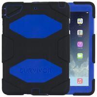 GENUINE GRIFFIN Survivor All-Terrain Case for iPad Mini 1 2 3 - Black Blue