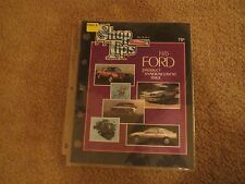 1985 FORD MUSTANG SVO MERKUR LINCOLN INTRO ISSUE SHOP TIPS MAGAZINE VOL22 NO 8