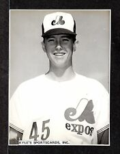 John Glass  WPB EXPOS  UNSIGNED  4-3/4 x 6-1/4  B & W ORIGINAL STAFF PHOTO #1