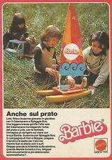 X9009 Barbie - Catamarano - Spiaggia Bus - Pubblicità 1977 - Advertising