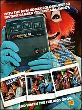 1979 Clown kids Kodak colorburst 50 instant camera vintage photo print Ad ads33