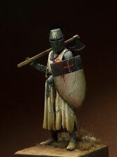 Tin soldier, museum, Templar knight in a Battle, templiers, Crusader, 90 mm