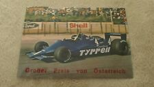 Tyrrell 014/4 Jean-Pierre Jarier alte orig. Formel 1 Postkarte